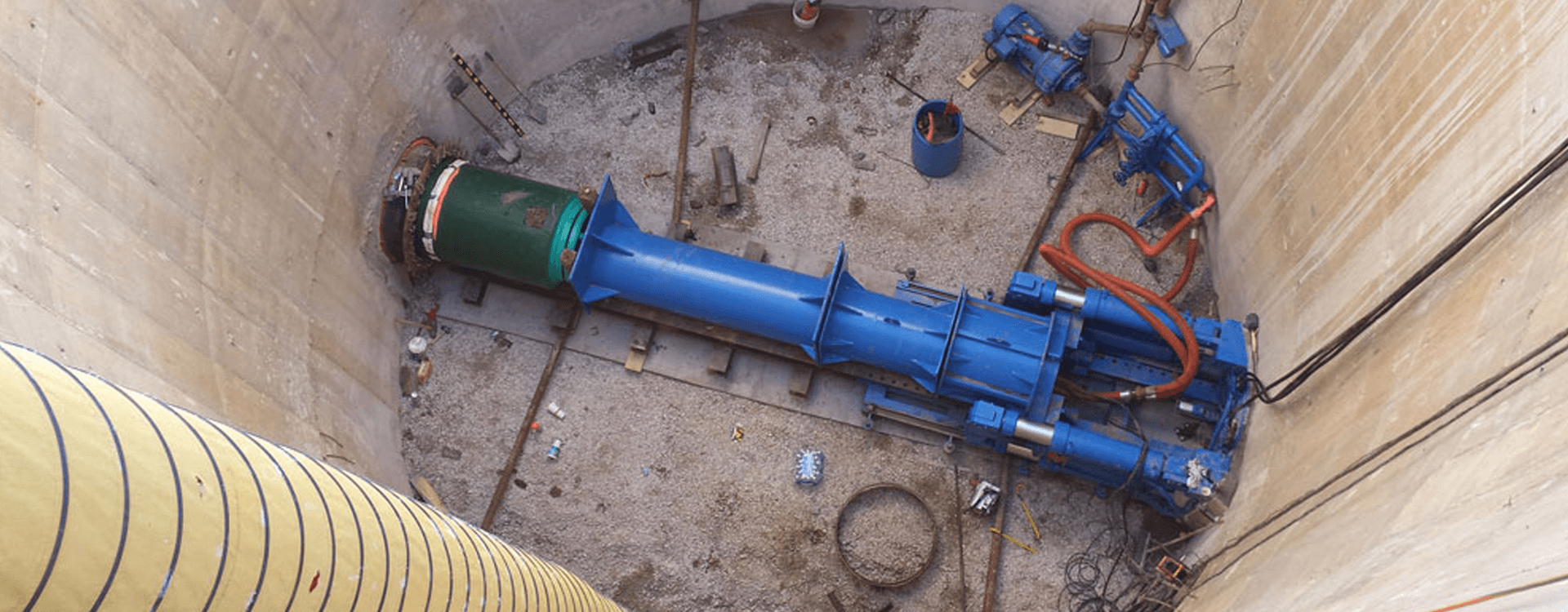Microtunneling Contractors | Huxted Tunneling